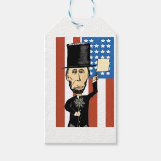 Etiquetas Para Regalos Presidente Lincoln Custom Gift Tags