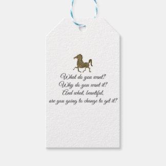Etiquetas Para Regalos ¿Qué usted quiere unicornio?
