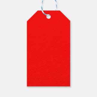 Etiquetas Para Regalos Rojo brillante colorido del Web del código del
