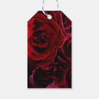 Etiquetas Para Regalos Rosas rojos