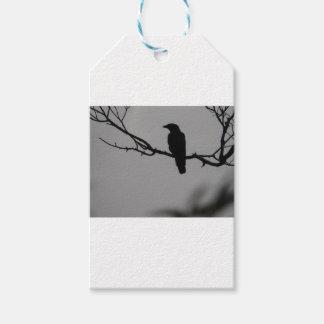 Etiquetas Para Regalos Silueta del pájaro