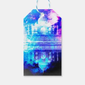 Etiquetas Para Regalos Sueños del Taj Mahal del cielo de la creación