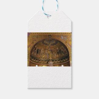 Etiquetas Para Regalos Templo del arco de la bóveda de la iglesia