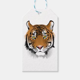 Etiquetas Para Regalos Tigre de Bengala