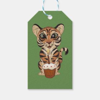 Etiquetas Para Regalos Tigre del cumpleaños