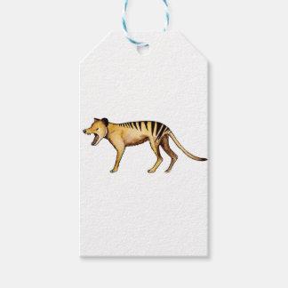 Etiquetas Para Regalos Tigre tasmano, Thylacine