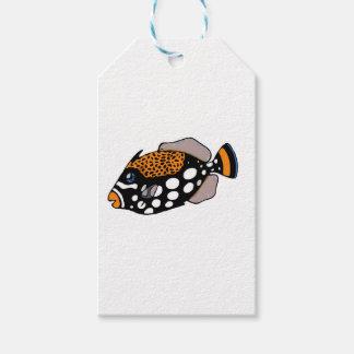 Etiquetas Para Regalos Triggerfish del payaso