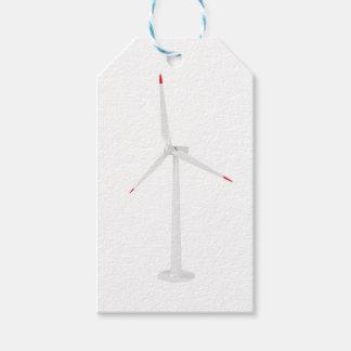 Etiquetas Para Regalos Turbina de viento moderna