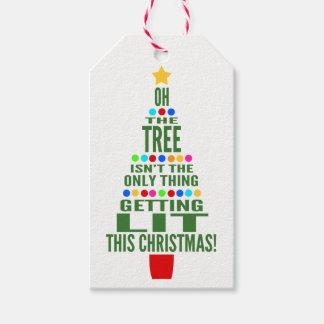 Etiquetas Para Regalos Vino del navidad/botella divertidos de Champán