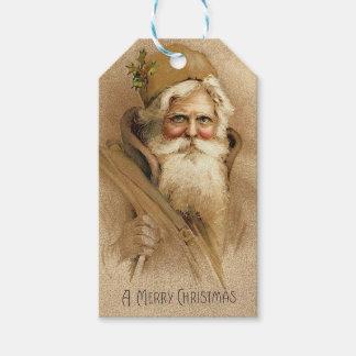 Etiquetas Para Regalos Vintage Santa