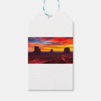 Etiquetas Para Regalos Vista escénica de la puesta del sol sobre el mar