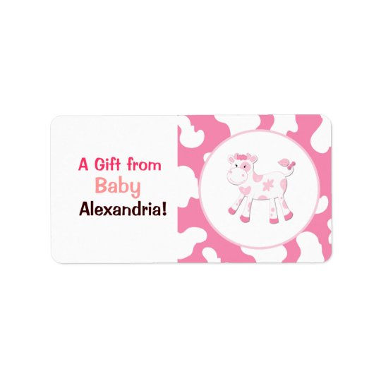Etiquetas/pegatinas rosados del personalizado de etiqueta de dirección