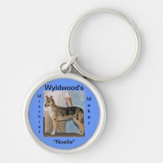 Etiquetas personalizadas del cajón del perro llavero