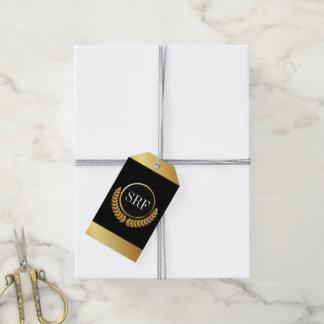 Etiquetas sofisticadas del regalo de la mirada del etiquetas para regalos