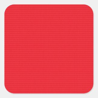 Etiquete los espacios en blanco sombra superficial pegatina cuadrada