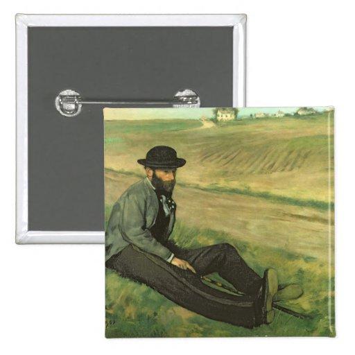 Eugene Manet (aceite en lona) Pins
