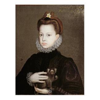 Eugenia de Isabel Clara de la infanta Postal