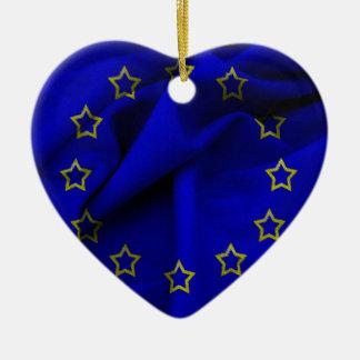 Europa-bandera Adorno De Cerámica