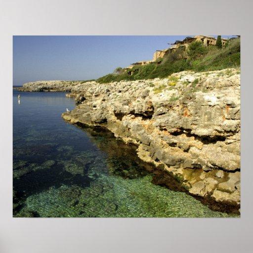 Europa, España, Minorca (aka Menorca), Binibeca. 2 Posters