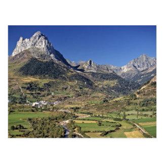 Europa, España, Sallent de Gallego. Un pequeño Postal