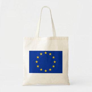 Europa estandarte bolso de tela