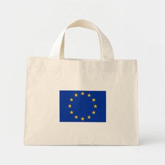 Europa estandarte bolso de tela diminuto