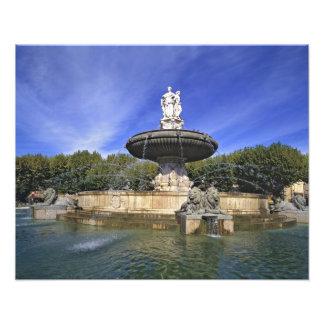 Europa, Francia, Aix-en-Provence. Fontaine de Arte Con Fotos