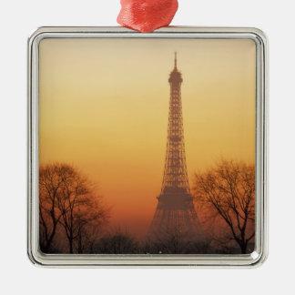 Europa, Francia, París. Torre Eiffel (medio Ornamentos De Navidad