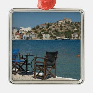 Europa, Grecia, Kastellorizo: sillas en el borde Ornamente De Reyes