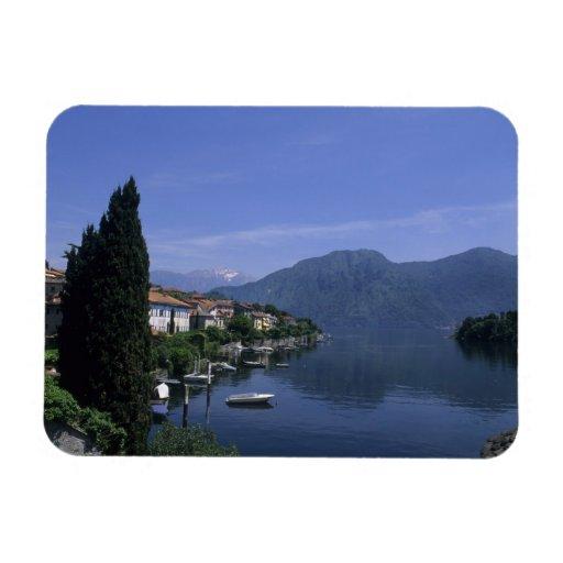 Europa, Italia, lago Como, Tremezzo. Septentrional Iman Rectangular