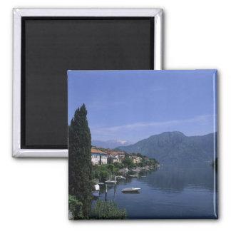Europa, Italia, lago Como, Tremezzo. Septentrional Imán Cuadrado