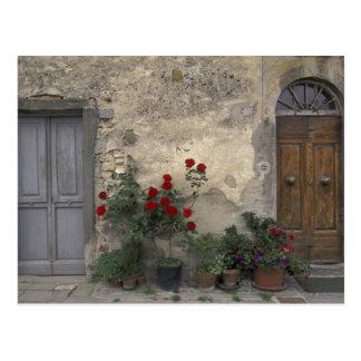 Europa, Italia, Toscana, Chianti, entrada toscana; Postal