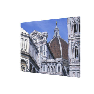 Europa, Italia, Toscana, Florencia. Del 2 de la pl Impresión De Lienzo