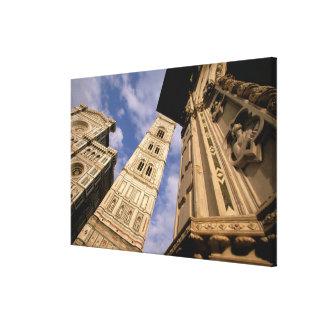 Europa, Italia, Toscana, Florencia. Del 3 de la pl Lienzo Envuelto Para Galerias