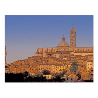 Europa, Italia, Toscana, Siena. Siglo XIII 3 Postal