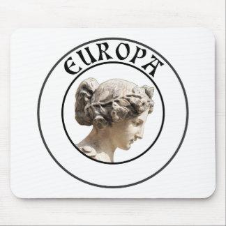 Europa: ¡Sea orgulloso mostrar sus raíces euro! Alfombrilla De Ratón