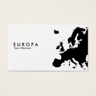 EUROPA TARJETA DE VISITA