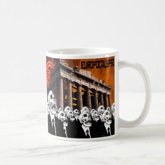 EUROPOCALYPSE TAZA DE CAFÉ
