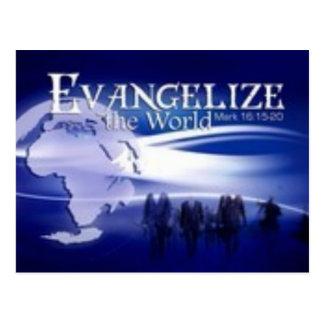 evangelice el mundo tarjetas postales