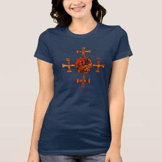 Evangélico-Resplandor solar Camisetas