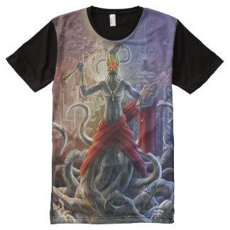 Evangelio de la camisa de Nyarlathotep Camiseta Con Estampado Integral