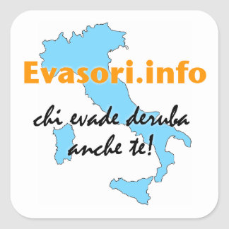 Evasori.info: grandi del adesivi pegatina cuadrada