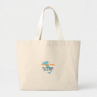 Evasori.info: spesa del borsa bolsa de tela grande