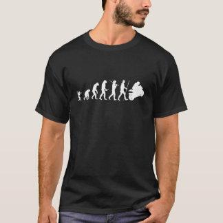 Evolución a la motocicleta camiseta
