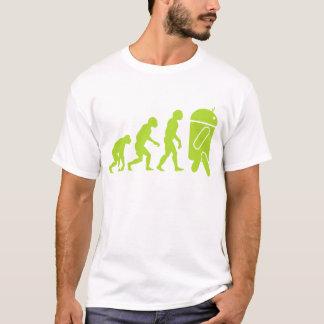 Evolución androide camiseta