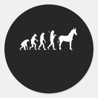 EVOLUCIÓN DE DEMÓCRATA - ETIQUETAS REDONDAS