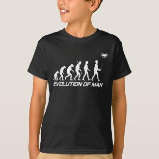 Evolución de la camisa del abejón del hombre