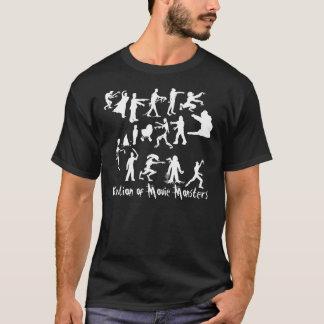 Evolución de la camiseta de la oscuridad de los