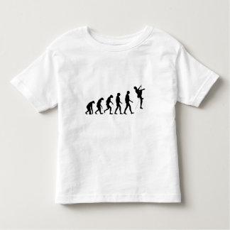 Evolución de la escalada camiseta de bebé