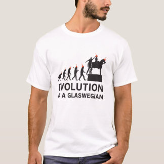 Evolución de una camiseta de Glaswegian (Glasgow)